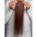 """EasiPieces 16"""" Length with 4"""" Width Base - Human Hair One Piece"""